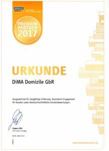 Auszeichnung Immobilienscout24 2017