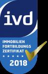 ivd Immobilienfortbildungszertifikat 2018